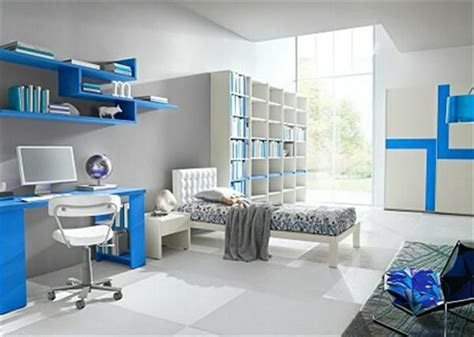 Cool Boy Bedrooms by Sensational White Blue Interior Cool Room Designs For Guys