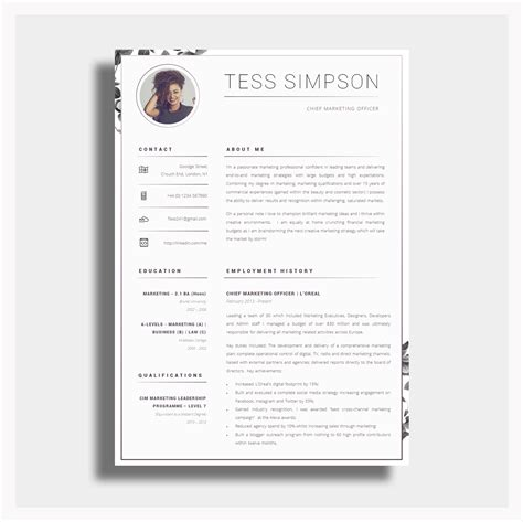 Sle Resume Template by 43 Modern Resume Templates Guru