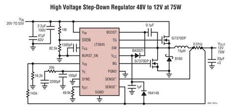 lt high voltage step  regulator