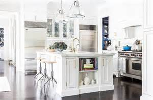 center island kitchen hudson valley lighting haverhill pendants with white center island transitional kitchen