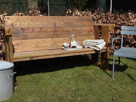 Bank Aus Bauholz by Quot Lauvstad Garten Quot Bank Aus Bauholz Wood Design