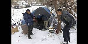 Winter Weather Highlights Plight Of Homeless People Left ...