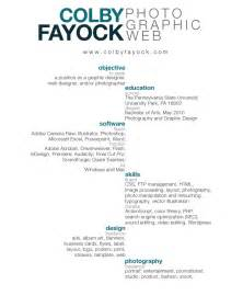 Graphic Design Resume Exles 2015 by Graphic Design Resume Exles 2012 Affordable Price