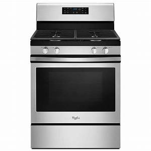 Whirlpool 30 In  5 0 Cu  Ft  Gas Range Convection In