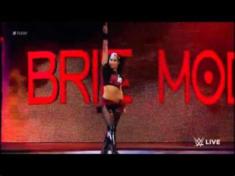 wwe brie bella entrance  wwe  youtube
