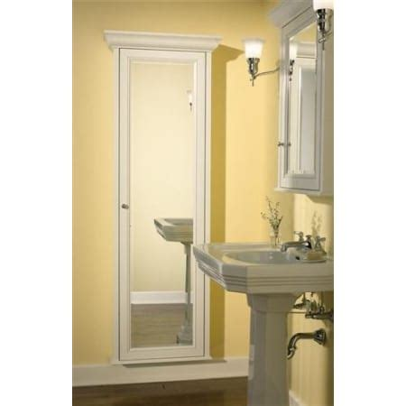 Robern Mirrored Cabinets by Robern Mfh1dcr8er White Length Single Door Mirrored