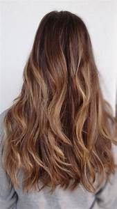 Trend Alert: Sun-Kissed Balayage Over Deep Brunette – Hair ...
