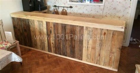 pallet counterbar pallet ideas pallets bar