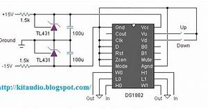 Wiring Schematic Diagram  Stereo Digital Volume Control
