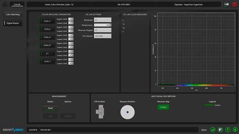 digital master software for spectrophotometer smart color premium
