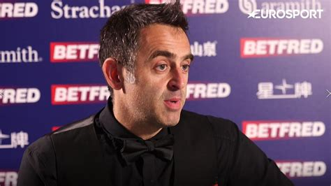 O'sullivan went into the final session of the. Ronnie O'Sullivan - I feared never winning World ...