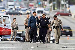 Woman killed when car collides with Inglewood police ...