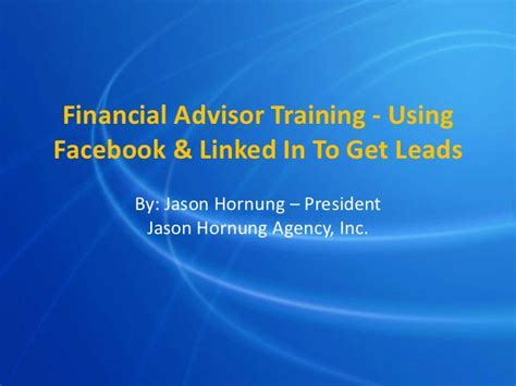 Financial Advisor Training  Using Facebook & Linked In To. Plastic Surgery Michigan Prices. Business Forecasting Software. Discount Business Class Fares To Europe. Hire Virtual Assistant Business Plan For Loan. Self Employment Retirement Account. Chevy Truck Vs Ford Truck 7 Year Fraud Alert. Tulane University Architecture. Employee Reimbursement Policy