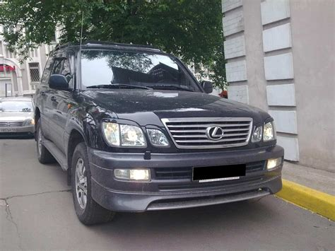 2007 Lexus Lx470 Pictures 47l Gasoline Automatic For Sale