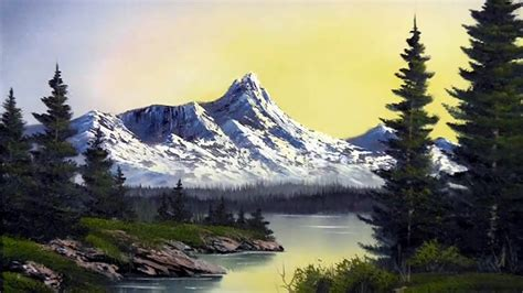 aetn paint wtih kevin sunrise   mountains july