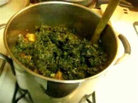 spinach stew youtube