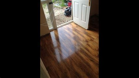 Laminate Flooring by Perfection Flooring BeveLOC Walnut