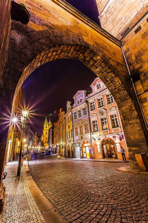 Prague By Night The Lightorialist