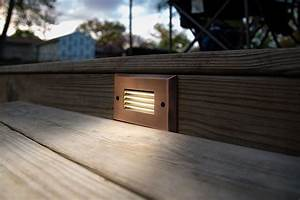 Led In Decke : led step lights rectangular deck step accent light w frosted lens 12v or 120v 17 lumens ~ Markanthonyermac.com Haus und Dekorationen