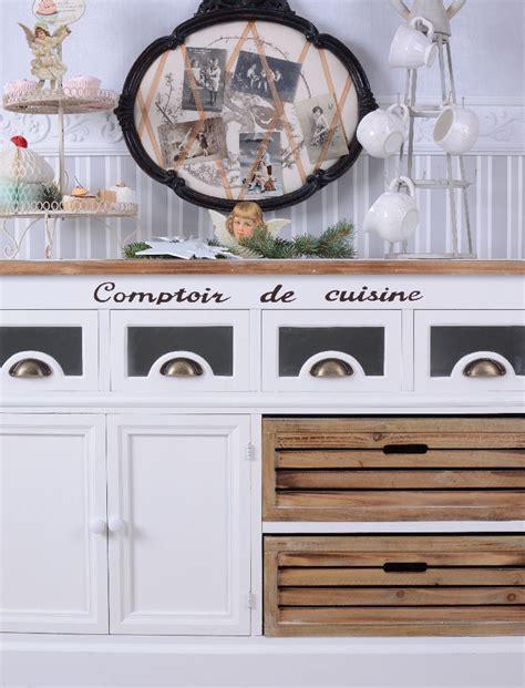 meuble cuisine shabby chic armoire style maison de campagne buffet shabby chic blanc