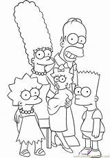Simpsons Coloring Step Simpson Maggie Coloringpages101 sketch template