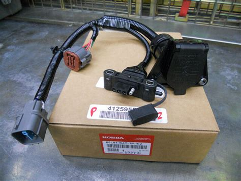 2013 Honda Pilot Tow Wire Harnes by 06 07 08 Honda Ridgeline Trailer Hitch Harness Socket 4
