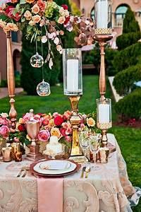 Rose Gold Decor : 2017 wedding trends events by jess ~ Teatrodelosmanantiales.com Idées de Décoration