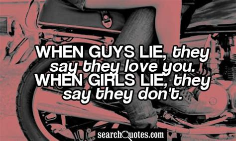 Quotes About Guys Lying