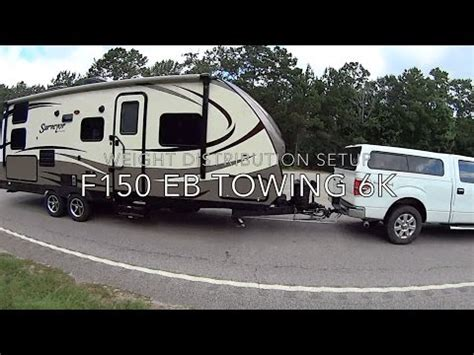 travel trailer towing with ecoboost f150 max tow youtube