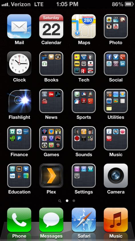organize iphone photos how to organize your apps on an iphone byte revel
