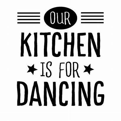 Kitchen Dancing Wall Decal Quotes Vinyl Wallquotes