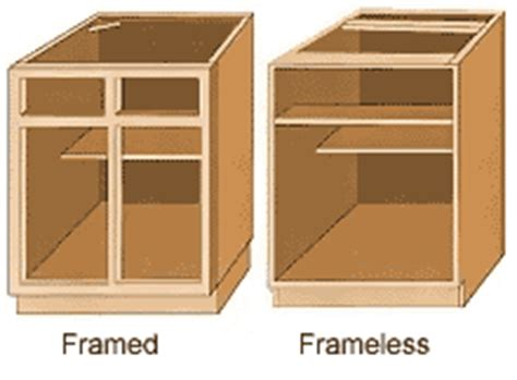 face frame cabinets vs frameless nicely done kitchens baths your one stop shop