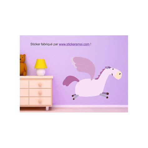 autocollant chambre fille sticker princesse cheval darla déco chambre fille