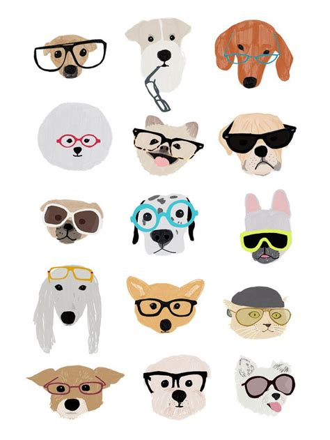 ideas  dog illustration  pinterest dog