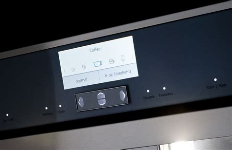 tcmrs thermador   touch fully automatic built  coffee machine