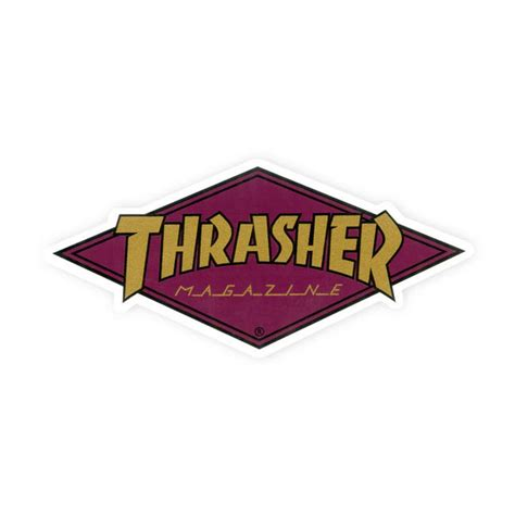 """Thrasher Diamond Logo Sticker 2"""" X 4125"""" Maroon. Vinyl Record Supplies. Ears Signs Of Stroke. Mexicantown Murals. Book Publisher Logo. Water Fall Murals. Fitstar Logo. Music Decals. Happy Anniversary Banners"""