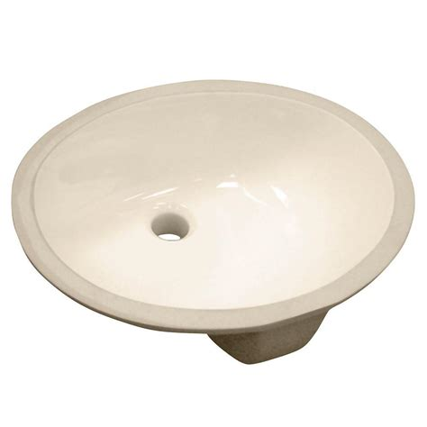 oval kitchen sink foremost vitreous china oval undermount bathroom sink in 1329