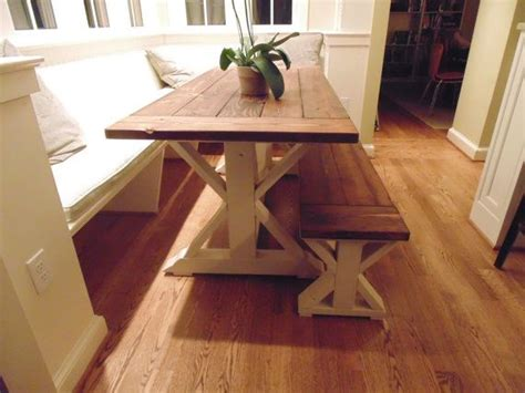 frederick dining table chevron trestle farmhouse