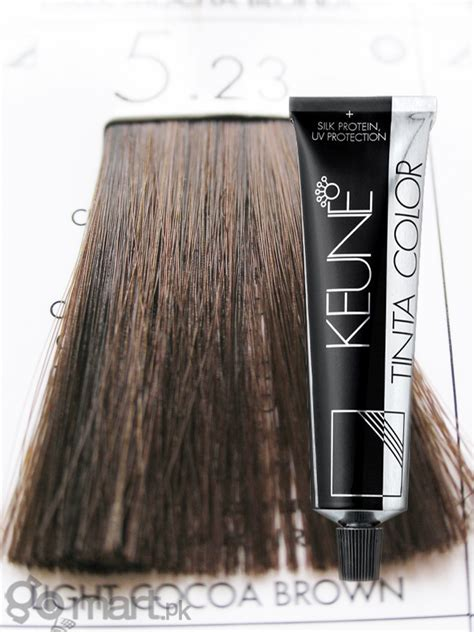 keune tinta color light cocoa brown  hair color