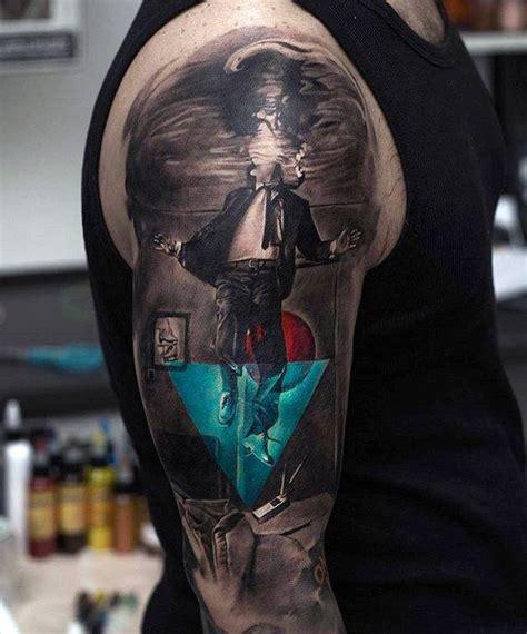 hyper realistic tattoos  men ultra likelike design
