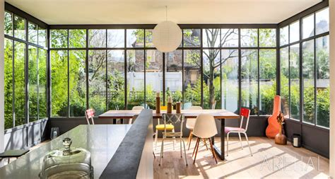 cuisine style atelier artiste verriere atelier artiste com veranda turpin