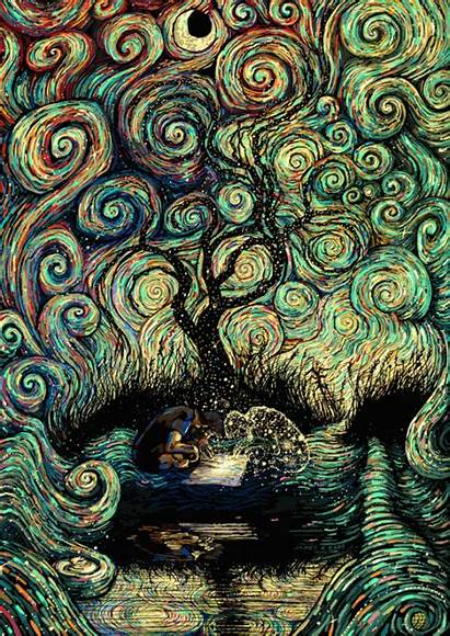 Psychedelic Create Artists
