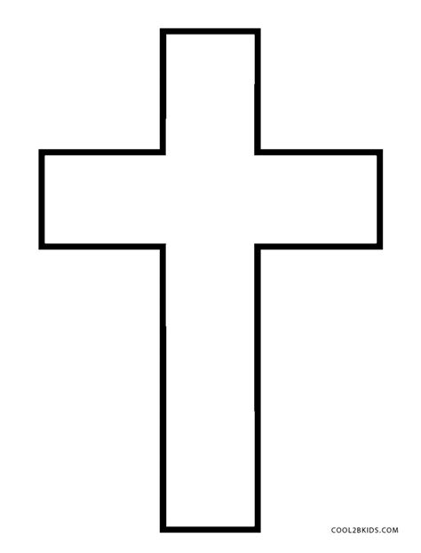 cross coloring page free printable cross coloring pages for cool2bkids