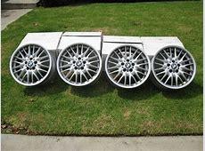 For Sale BMW OEM Style number 72 M V Spoke Staggered Rims
