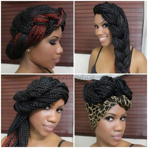30 box braids looking absolutely stunning all hairstyles