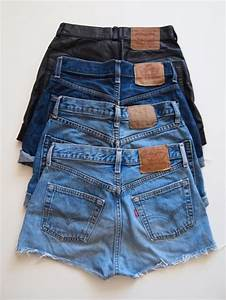 Shorts high waisted shorts denim clothes brands jeans short blue leather tumblr ...
