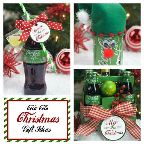 christmas ideas for coca cola gifts for christmas fun squared