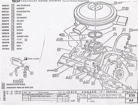 Carb 305 Chevy Engine Wiring Diagram by 8 Best Images Of Gm 350 Carburetor Diagram Rochester