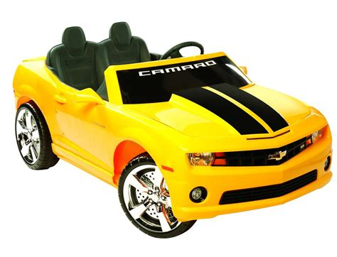 What Powers Electric Cars by Camaro Ride On 12v Power Wheels Electric Car