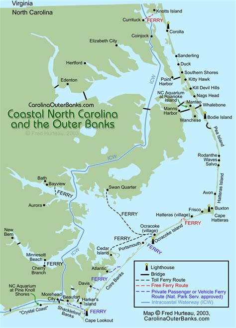 map  outer banks core banks shakleford banks crystal
